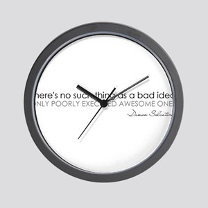 The Vampire Diaries Wall Clock