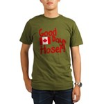 Good Day, Hoser! Organic Men's T-Shirt (dark)