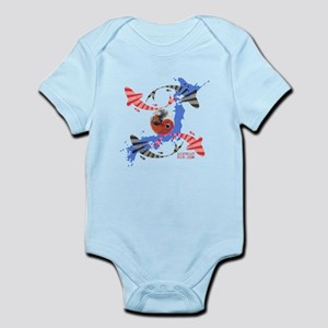 YIN AND YANG FISH Infant Bodysuit