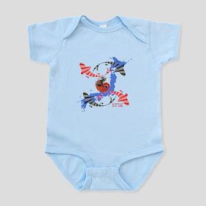 YIN AND YANG FISH Infant Bodysuit