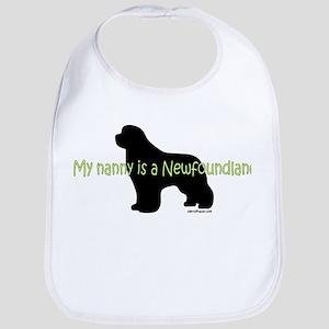 Newf Nanny Bib
