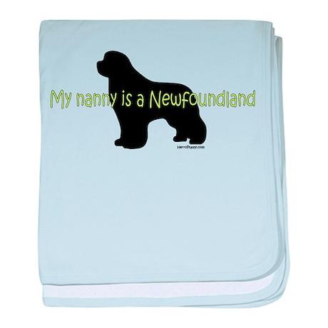 Newf Nanny baby blanket