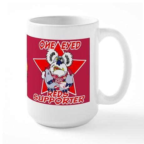Reds Red Large Mug