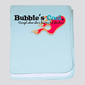 Bubbie's Hot Flashes baby blanket