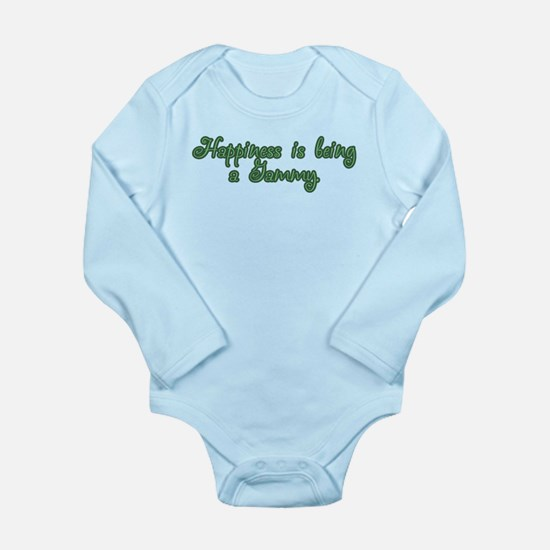 Happiness is being a Gammy Long Sleeve Infant Body