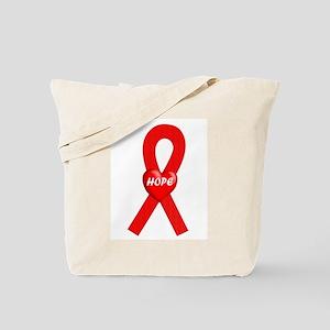 Red Hope Tote Bag