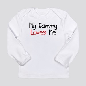 My Gammy Loves Me Long Sleeve Infant T-Shirt
