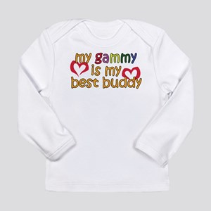 Gammy is My Best Buddy Long Sleeve Infant T-Shirt
