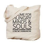 Home For Hungry Minds & Souls Tote Bag