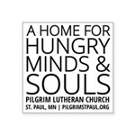 Home For Hungry Minds & Souls Sticker