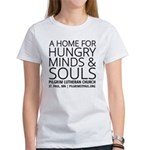 Home For Hungry Minds & Souls Fitted T-Shirt