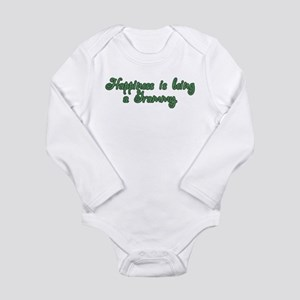 Happiness is being a Grammy Long Sleeve Infant Bod
