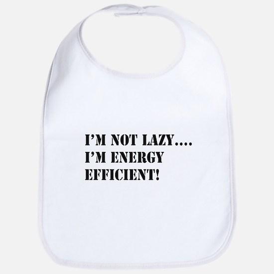 I'm energy efficient! Bib