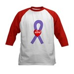 Violet Hope Kids Baseball Jersey