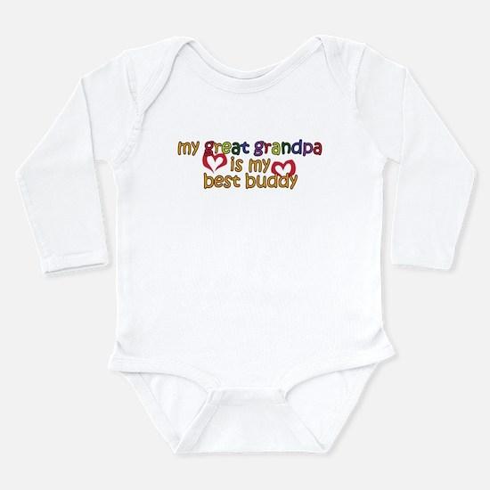 Great Grandpa is My Best Budd Long Sleeve Infant B