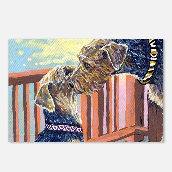 Airedale Terrier Postcards