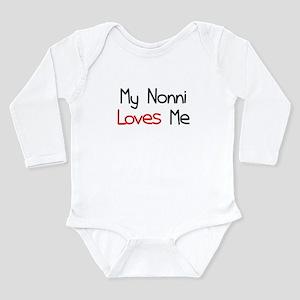 My Nonni Loves Me Long Sleeve Infant Bodysuit