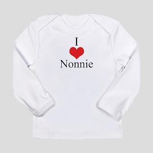 I Love (Heart) Nonnie Long Sleeve Infant T-Shirt