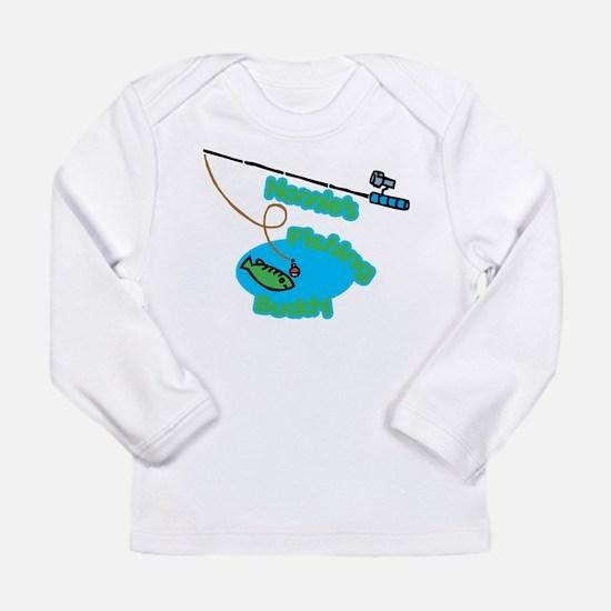 Nonnie's Fishing Buddy Long Sleeve Infant T-Shirt