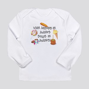 What Happens at Nonnie's... Long Sleeve Infant T-S