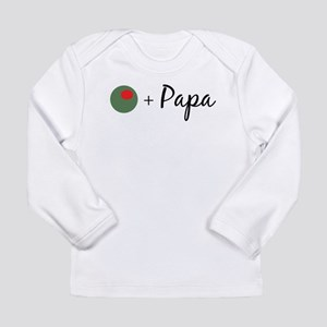Olive Papa Long Sleeve Infant T-Shirt