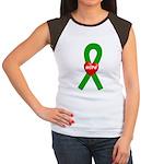 Green Hope Women's Cap Sleeve T-Shirt