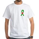 Green Hope White T-Shirt
