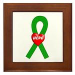 Green Hope Framed Tile