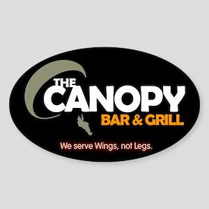 Canopy: Sticker (Oval)