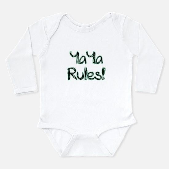 YaYa Rules! Long Sleeve Infant Bodysuit