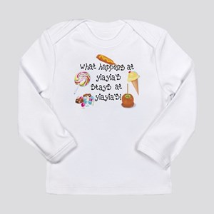 What Happens at YiaYia's... Long Sleeve Infant T-S