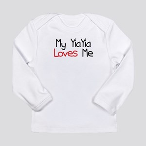 My YiaYia Loves Me Long Sleeve Infant T-Shirt