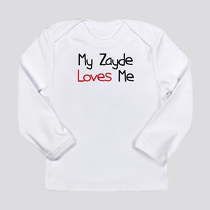 My Zayde Loves Me Long Sleeve Infant T-Shirt