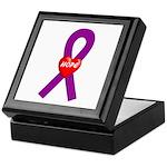 Purple Hope Keepsake Box