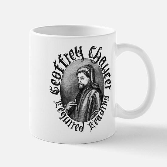Geoffrey Chaucer Mug