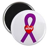 Purple Hope Magnet