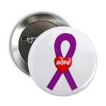 Purple Hope Button