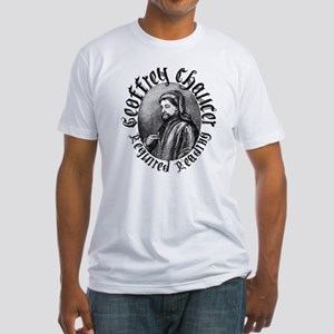 Geoffrey Chaucer Fitted T-Shirt