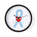 Lt. Blue Hope Wall Clock