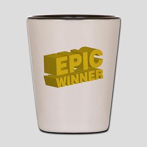 Epic Winner Shot Glass