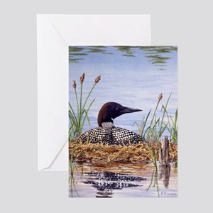 Nesting Loons Greeting Cards (Pk of 10)