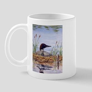 Nesting Loons Mug