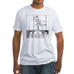 Peter and the City (no text) Fitted T-Shirt