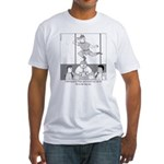 Peter and the City Fitted T-Shirt