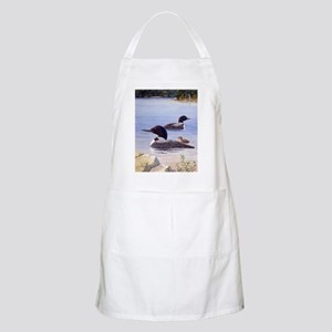 Loons with Chick BBQ Apron