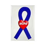 Blue Hope Rectangle Magnet (100 pack)