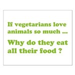 Vegetarians : The Reality Small Poster