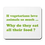Vegetarians : The Reality Mousepad