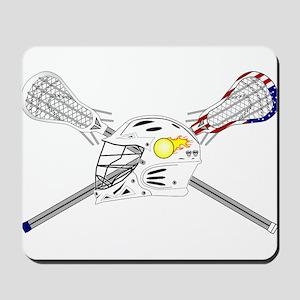 Lacrosse Helmet Mousepad