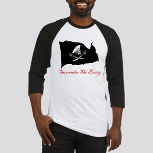 Surrender The Booty Pirate Baseball Jersey